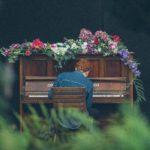 【オンラインピアノ発表会の】空間デザインに初チャレンジ!【フラワーデコレーション】
